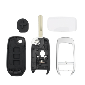 Image 5 - KEYYOU 3 כפתורים עבור רנו Captur סמל Kadjar Kaptur (רוסיה) מגאן 3 חכם מפתח מרחוק מקרה החלפת Flip רכב מפתח Shell