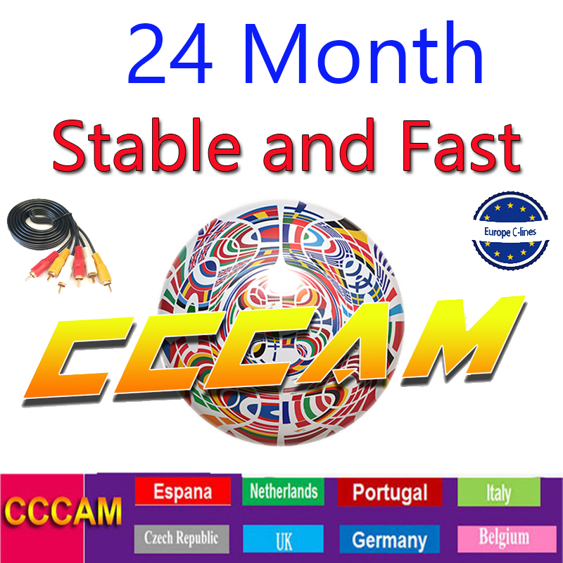 Cccam 8 Cline For 2 Year Europe 8 Lines Stable Server HD Ccams For Spain Portugal Germany Poland For Satellite Receiver Gtmedia