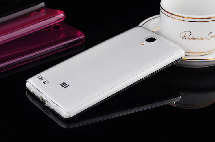 Gran precio Ultra fino suave TPU transparente cristal funda para Xiaomi Hongmi Note rojo arroz Redmi Note 5,5'' cubierta trasera