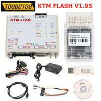 V1.95 KTMFLASH Car Scanner ECU Programming Tool KTM FLASH 1.95 Read BOOT mode according to the chip model with USB Dongle
