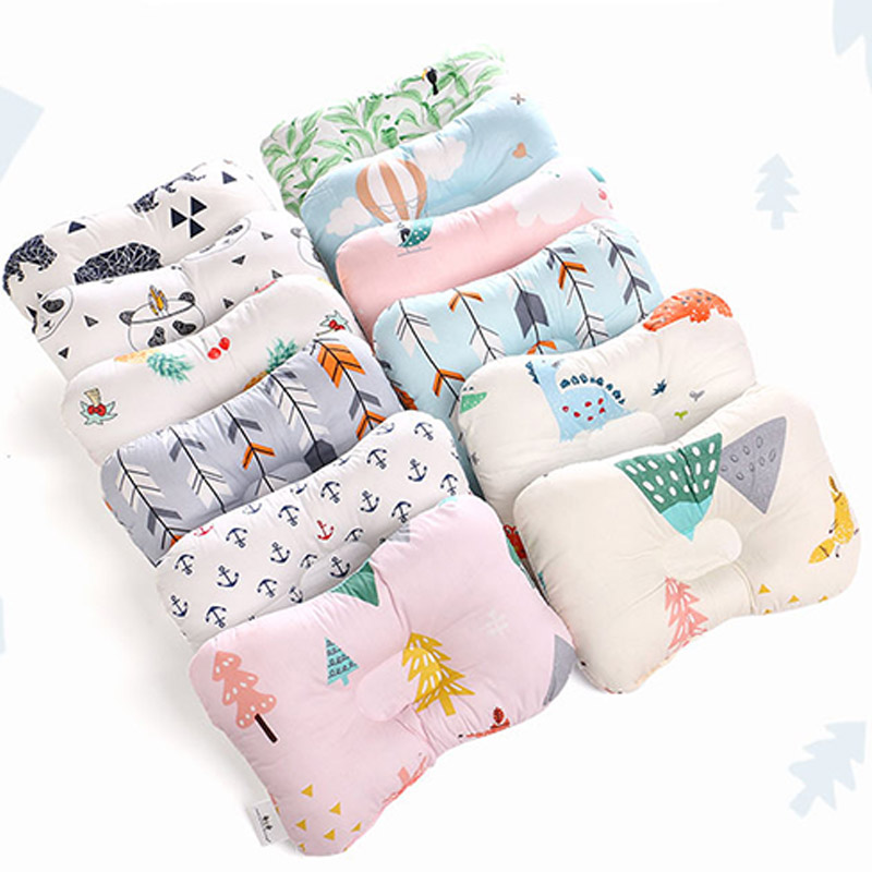 Baby Shaping Pillow Pure Cotton 1Pcs Multifunction Infant Toddler Headrest Soft Breathable Anti-rollover Newborn Baby Pillows