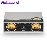 Nobsound-micrófono + línea analógico doble Medidor de VU, pantalla de Panel DB, visualización de Audio estéreo, indicador de nivel de sonido para amplificador de potencia