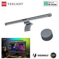 Yeelight-Barra de luz LED para pantalla de ordenador, lámpara colgante, RGB, Ra95, temperatura de Color regulable, Wifi, Control inteligente