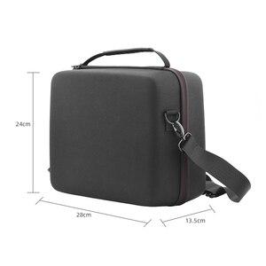 Image 5 - Nylonowa torba do przechowywania PU dla DJi Mavic Mini Hardshell Box torby na ramię dla Mavic Mini przenośny pakiet futerał do przenoszenia akcesoria