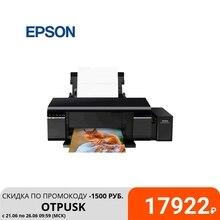 Принтер Epson L805 A4, 6-ти цв. стр. фотопечать, Wi-Fi, черный