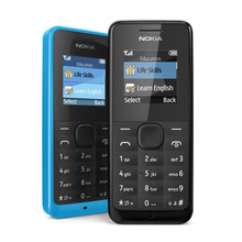 NOKIA-teléfono móvil 105 renovado, dual-sim, buena calidad, 2G, GSM, No hebreo, desbloqueado, Original
