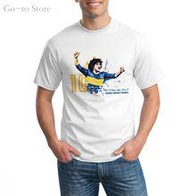 Диего Марадона футбол винтажные Современные футболки с коротким