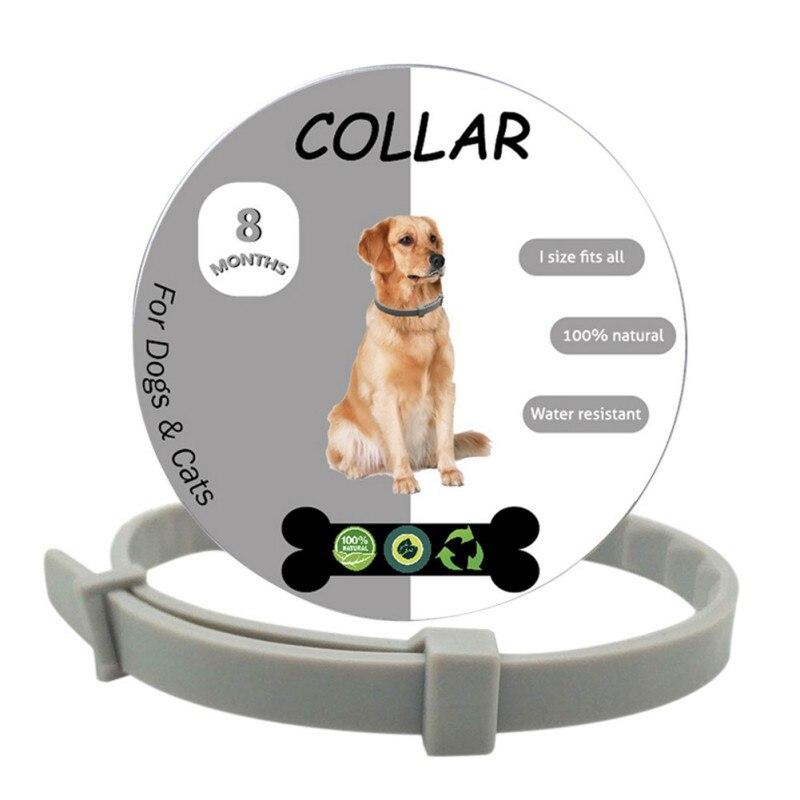 Pet Dog Collar Anti Flea Ticks Mosquitoes Outdoor Protective Adjustable Waterproof Protection Accessories