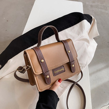 Bag Female 2021 Spring New Fashion Net Red Ins Single Shoulder Messenger Bag Fashion Portable Small Square Bag