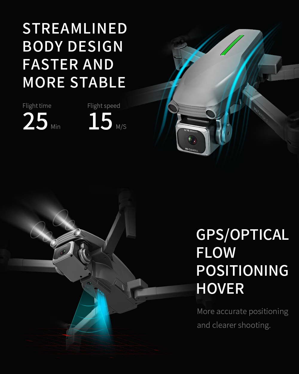 Rc Quadcopter L109 Drone Gps 4K Hd Camera 5G Wifi Fpv Borstelloze Motor Opvouwbare Selfie Drones Professionele 1000 M Lange Afstand - 3