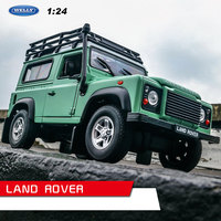 welly 1:24 Land Rover Defender car alloy car model simulation car decoration collection gift toy Die casting model boy toy