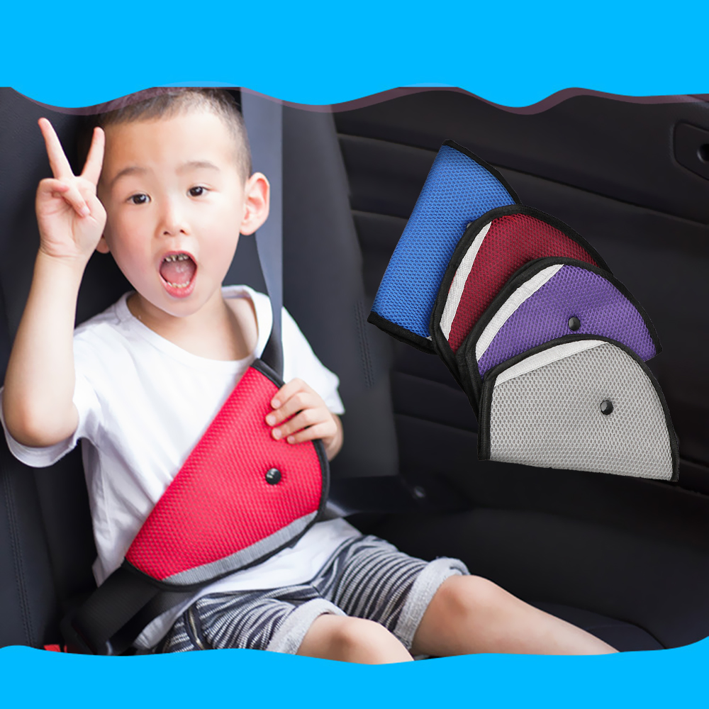 LEEPEE Car Safety Belt Adjust Device Baby Child Protector Covers Shoulder Triangle Safety Seat Belt Adjuster Pad|Seat Belts & Padding| |  - title=