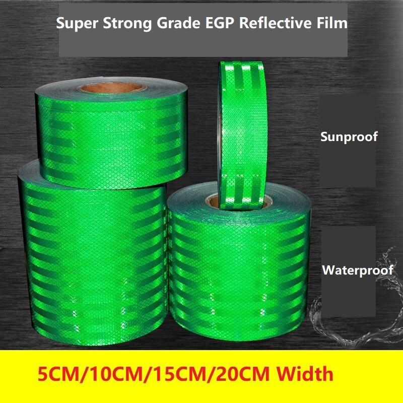 Sun Proof Waterproof Road Traffic Warning Board, Billboard Reflective Film Super EGP Reflective Sticker