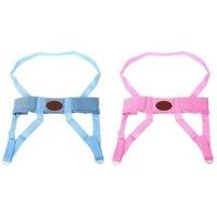 2 шт для детей ясельного возраста легко мыть ремни и шаг ходьба помощник поводья, розовый и синий