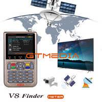 """GTMEDIA V8 Finder nueva llegada medidor de buscador de satélite Actualización de FREESAT V8 Finder FTA receptor de satélite 3,5 """"LCD buscador de satélite"""