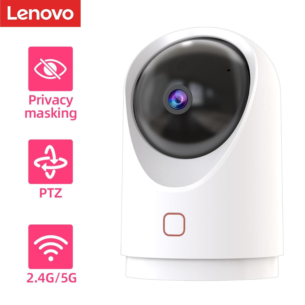 Lenovo 1080P умный двухдиапазонный ip-камера наблюдения камера 2,4G/5G Wi-Fi камеры видеонаблюдения детский монитор два способа говорить для домашной ...