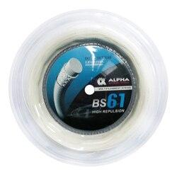 1 carrete Alpha BS61 cuerda de bádminton 0,61mm 200m juego de cuerdas para jugador de fuerza cuerda de raqueta de Bádminton
