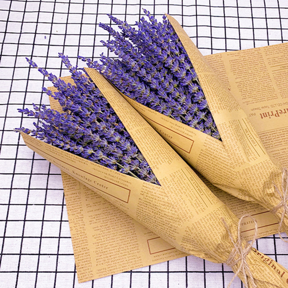 Bouquet Flower Dried Bunches Natural Dry 40cm DIY title=