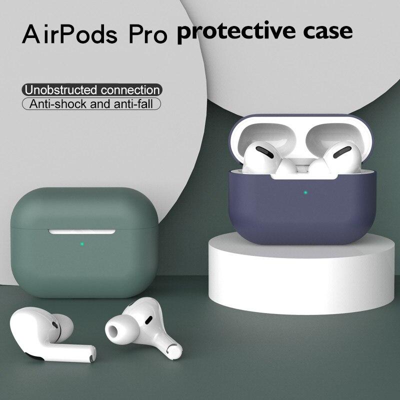 Szilikon borító tok Apple Airpods Pro tokhoz matrica bluetooth tok - Hordozható audió és videó - Fénykép 2
