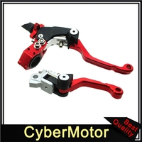 Racing Foldable Clutch Brake Handle Lever For Chinese 150cc 250cc Braaap Lucky MX DHZ Stomp Pit Dirt Bike Motorcycle