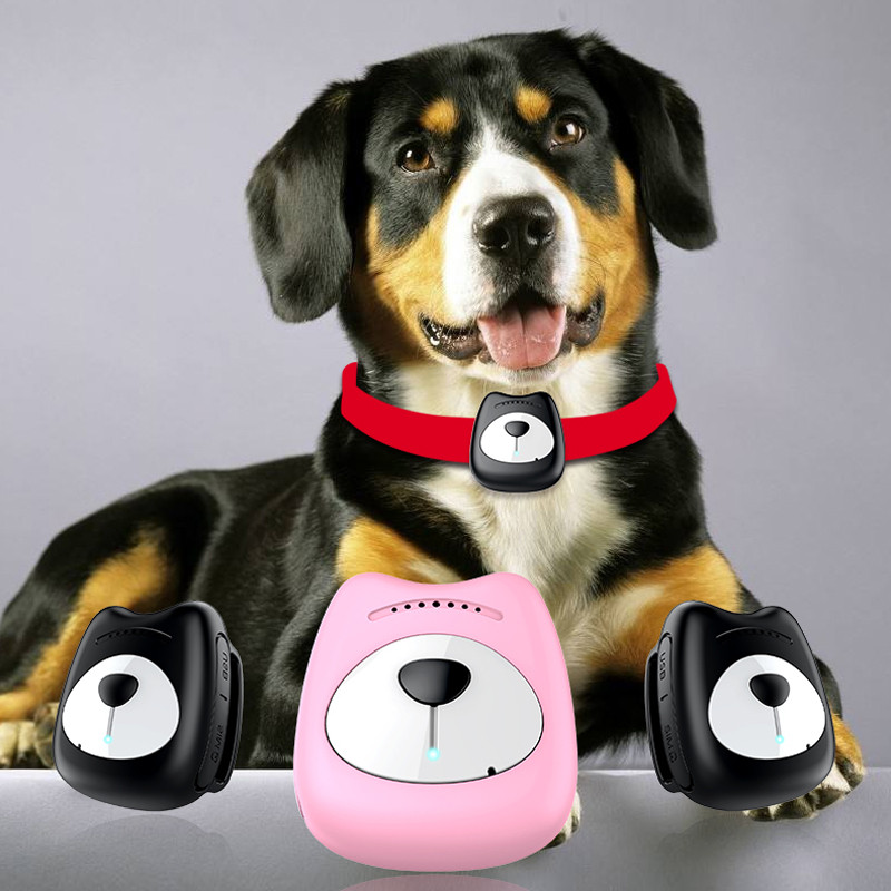 Rastreador de mascotas inteligente a prueba de agua IP67 MiNi Pet GPS WIFI LBS rastreador de cuello para perro gato posicionamiento geocerco dispositivo de seguimiento RFID 125KHZ o 13,56 MHZ, cerámica negra, anillo inteligente, desgaste para hombre o mujer