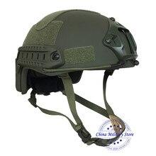 Snelle Bulletproof Ballistic Helm Ons Standaard Nij Iiia Aramide Voor Politie Guard Veiligheid Bescherming