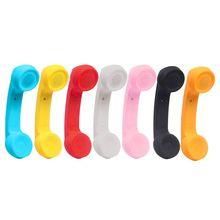אלחוטי Bluetooth 2.0 רטרו טלפון שפופרת מקלט אוזניות עבור שיחת טלפון