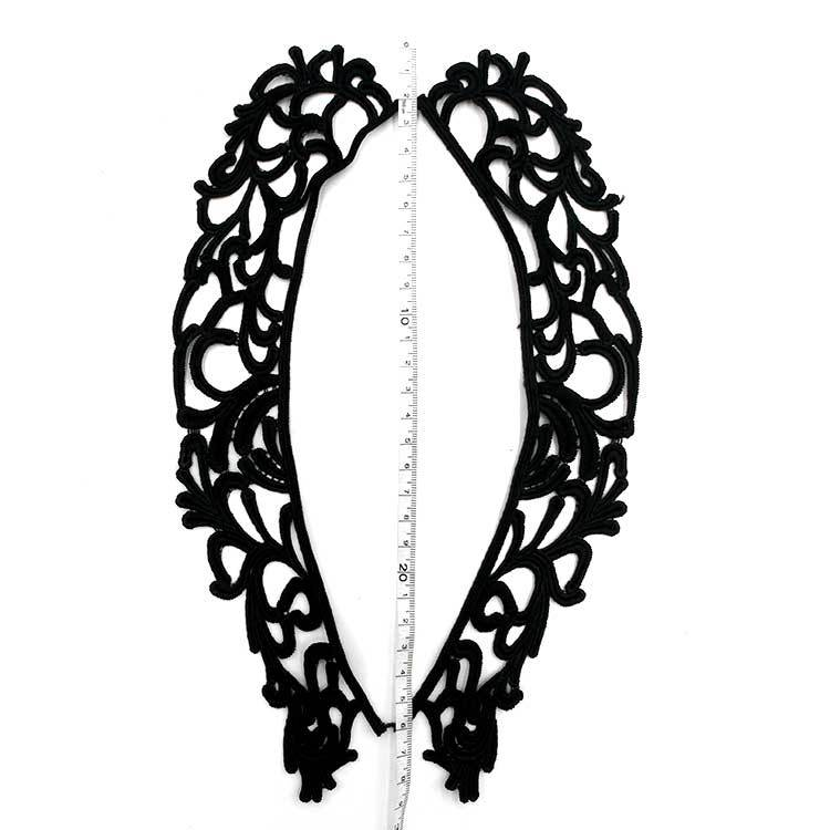 Water Soluble Lace Flower Stereo Hollow Milk Silk Embroidered Flowers DIY Daily