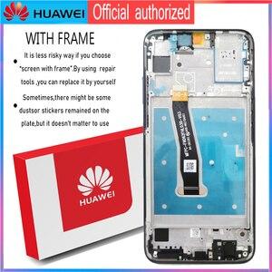 """Image 3 - Dành Cho Huawei Honor 10 Lite Màn Hình Hiển Thị LCD Bộ Số Hóa Màn Hình Cảm Ứng Với Khung Phiên Bản Toàn Cầu 6.21 """"HRY LX1 HRY LX2 HRY L21"""