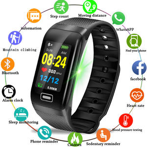 Fitness Tracker Pedometer Wristband Smart-Watch Blood-Pressure Sport Android LIGE IP67