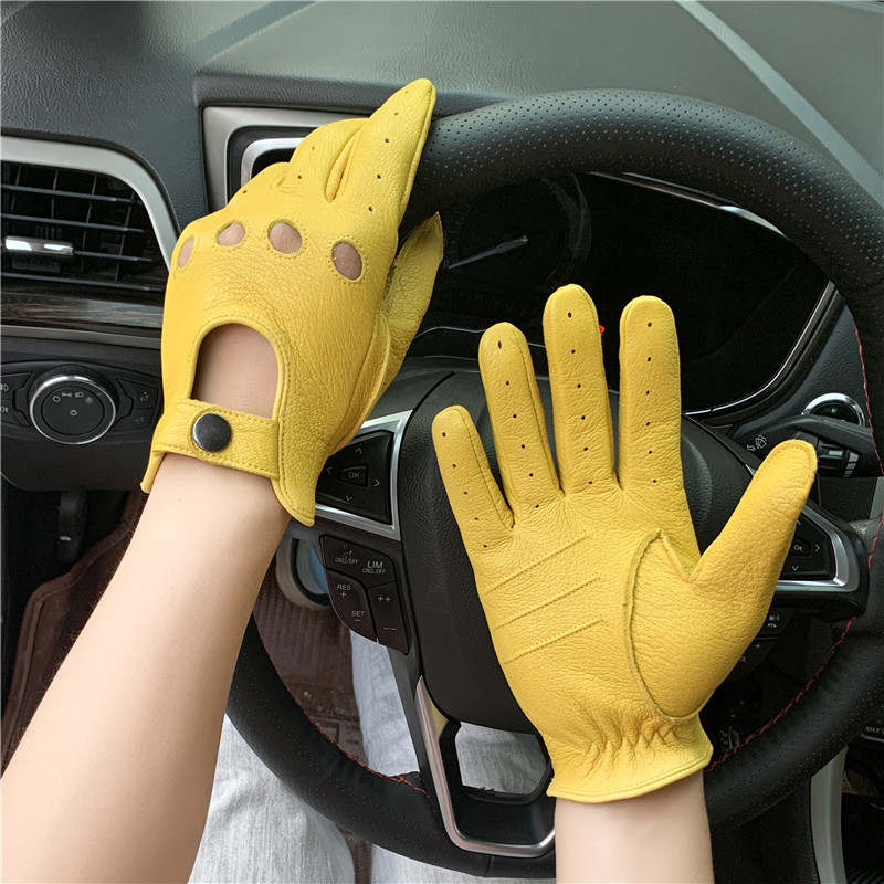 Motorcycle sheepskin gloves men's outdoor sports driving retro motorcycle touch screen gloves warm in autumn and winter|Men's Gloves| - AliExpress