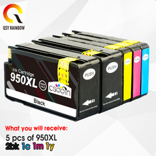 Ink-Cartridge HP950XL Hp 950 Replacement 8610 Hp Officejet 951XL for 5pcs 8620 8630 8625