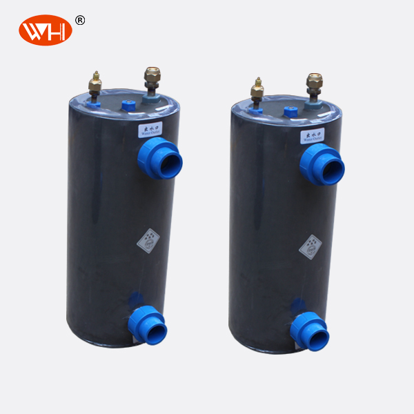 3P Cooling System tube in shell heat exchanger seafood,Titan Heat exchanger in pvc,titanium chillers for aquariums
