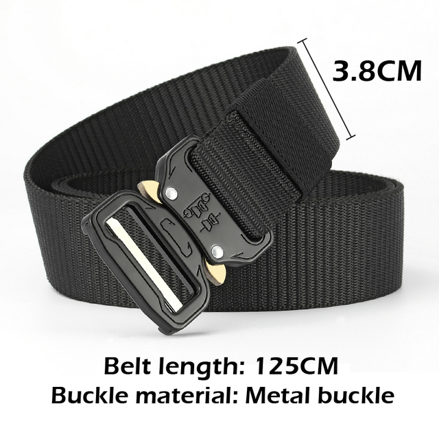 New Nylon Molle Military SWAT Combat Knock Off Emergency Survival Belt Tactical Gear 1