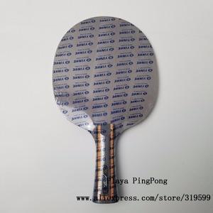 Image 2 - Yinhe Y13 Mercury.13, для настольного тенниса, из углеродного волокна, с петлей + лезвием для настольного тенниса, ракетки для пинг понга, для игры в пинг понг