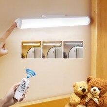 Usb sem fio recarregável conduziu a lâmpada de mesa lâmpada luz moderna estudo pendurado armário casa luz da noite para armário