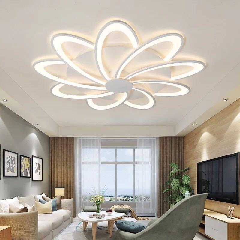 Iralan moderno conduziu a luz de teto lâmpadas terminou casa para sala estar quarto sala jantar iluminação branca ac110v ac220v 1