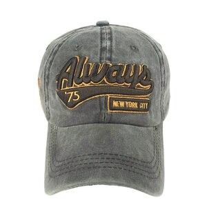Image 3 - 고래 패턴으로 새로운 씻어 면화 야구 모자는 남성 여성을위한 수 놓은 편지 아빠 모자를 뾰족 해졌다 casquette gorra hombre bone