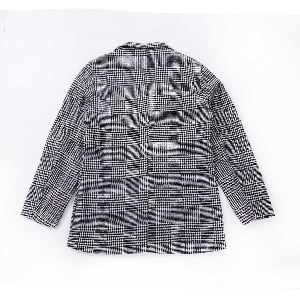 Inverno nova moda masculina xadrez plus size casaco masculino casual inverno moda senhores casaco longo outwear alta qualidade