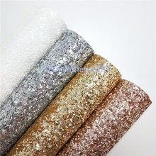 Массивная блестящая кожа синтетическая кожа искусственная кожа ткань блестящая кожа с цветными блестками для шитья своими руками P434