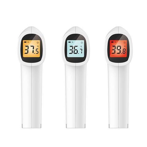 contec testa nao contato infravermelho termometro do bebe lcd temperatura corporal febre digital ir ferramenta