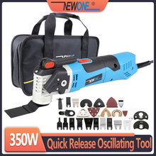NEWONE Oscillating Multi-tool Electric Saw Trimmer Home Multifunctional Renovator for Wood/Metal Working Tool