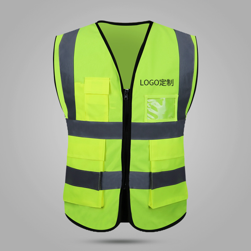 Traffic Architecture Reflective Waistcoat Work Site Construction Sanitation Road Administration Driver Safety Clothing Work Clot