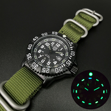 Military-Watches Addies Multi-Functional Outdoor Sports Waterproof Men's Nylon Quartz
