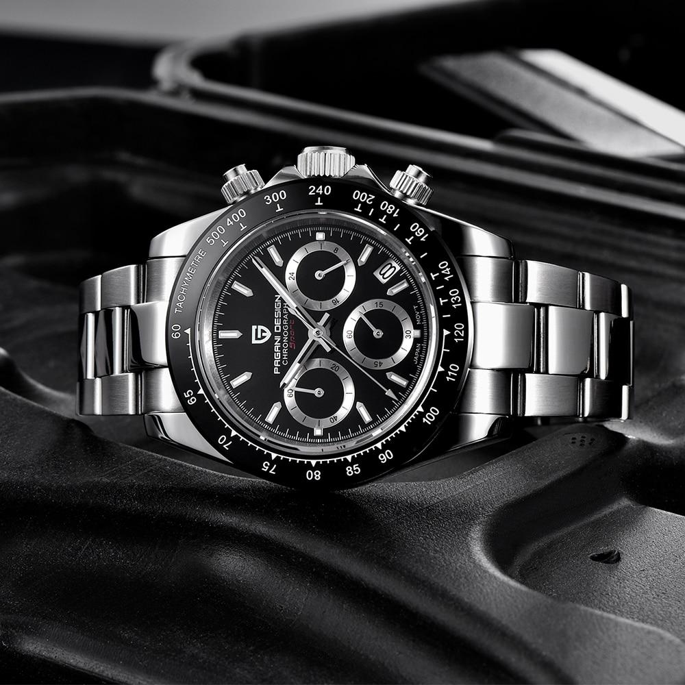 PAGANI DESIGN Relógio Masculino Business Waterproof Sports Watch Relogio Masculino Quartz Watch Top Brand Luxury Men Watch