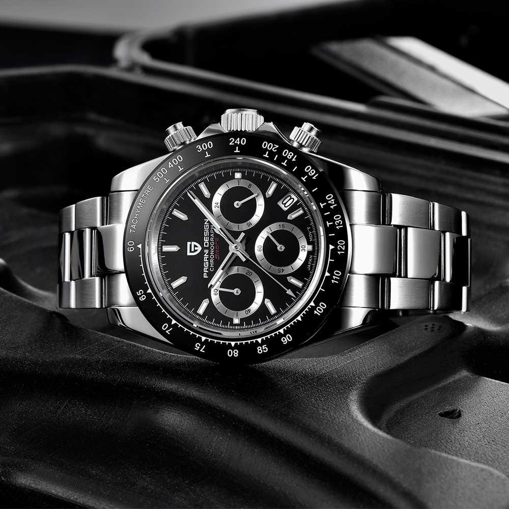 Pagani Desain Relógio Masculino Bisnis Tahan Air Olahraga Watch Relogio Masculino Kuarsa Watch Top Brand Mewah Jam Tangan Pria