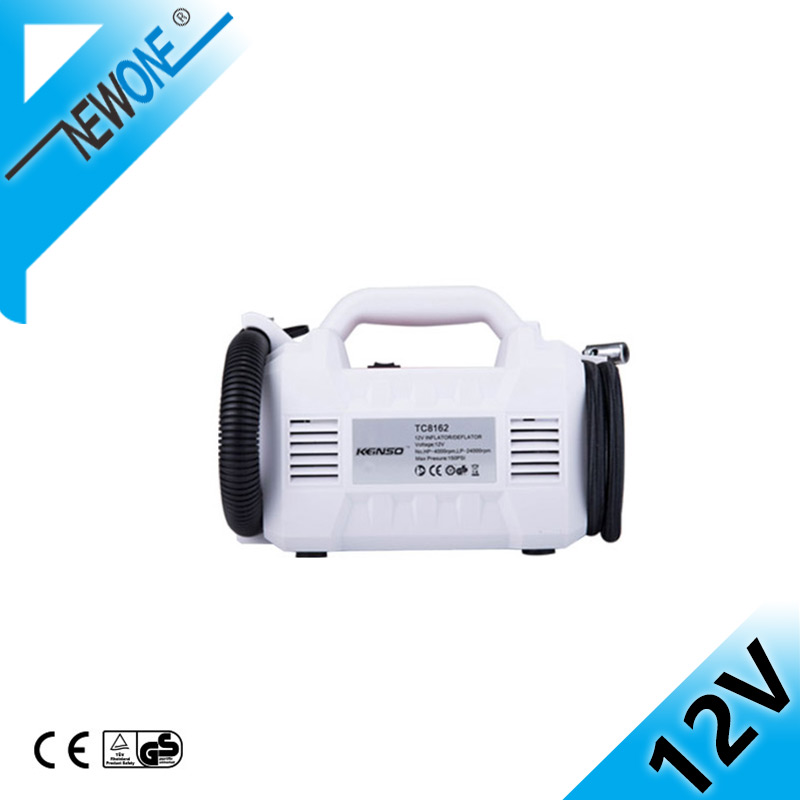 NEWONE 12 Volt Cordless Portable Air Compressor Pump For Air Horn Boat Car Truck Car Motorcycles Bicycles  DC Electric Machine