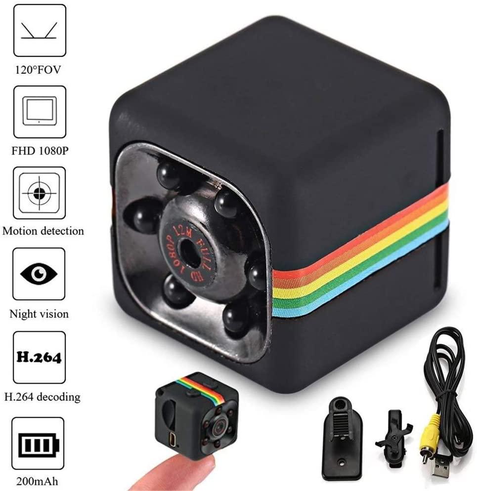 Мини-камера HD 1080P датчик ночного видения Видеокамера движения DVR микро камера Спорт DV видео маленькая камера Cam SQ 11