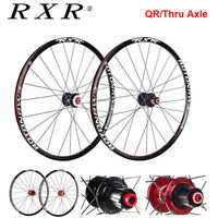 RXR 26er 27.5er 29er Laufradsatz MTB 7 11 Geschwindigkeit Rad Sets Mountainbike Aluminium Vorne Hinten Rim Rad Fit shimano SRAM Kassette-in Fahrrad-Rad aus Sport und Unterhaltung bei