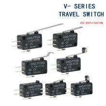 Momentary Micro Eindschakelaar CHZJTTDQ V-15.V-151.V-152.V-153.V-154.V-155.V-156.-1C 25 Reizen eindschakelaar zilver contact